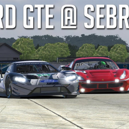 iRacing - Ford GTE @ Sebring [No Commentary]