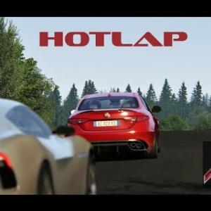 Assetto Online: Alfa Giulia Hotlap on the Nordschleife!