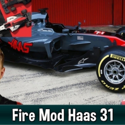 Motorsport Manager Fire Mod - Haas F1 The American Dream 31