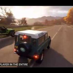 Forza Horizon 4 Trailer & Demo Gameplay E3 2018