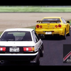 Assetto Online: Toyota AE86 in the Showdown Race!