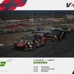 RaceRoom | VRGT3 Round 6 Sonoma Practice Race