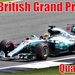 2017 Formula 1 British Grand Prix - Qualifying Highlights (All Cars)