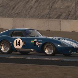 Assetto Corsa Daytona Cobra Practice @ Laguna Seca