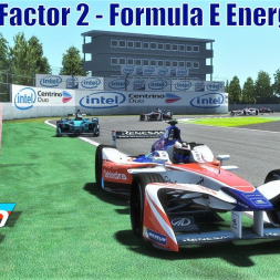 Formula E Energize Pack Race at Montreal - rFactor 2