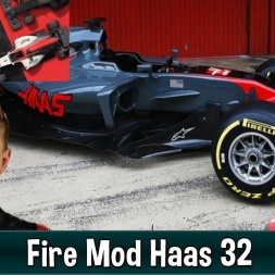 Motorsport Manager Fire Mod - Haas F1 The American Dream 32