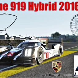 Porsche 919 Hybrid LMP1 2016 HOTLAP at LeMans - Porsche DLC Pack 3 - Assetto Corsa