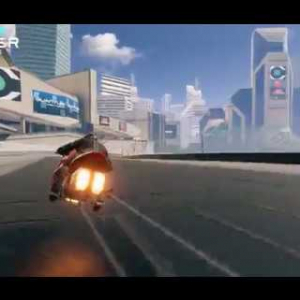 V-Racer Hoverbike - Combat Race Gameplay