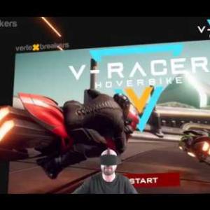 V-Racer Hoverbike - Mugello TimeTrial