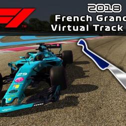 F1 2018 French Grand Prix | Virtual Track Guide | Paul Ricard, France | ACFL 2018