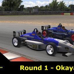 iRacing - UK & I Skip Barber League - Okayama