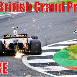 2017 Formula 1 British Grand Prix - Race Highlights