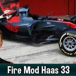 Motorsport Manager Fire Mod - Haas F1 The American Dream 33
