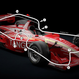 Assetto Corsa - '99 CART - Detroit Belle Isle - Hotlap