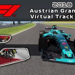 F1 2018 Austrian Grand Prix | Virtual Track Guide | Red Bull Ring, Austria | ACFL 2018