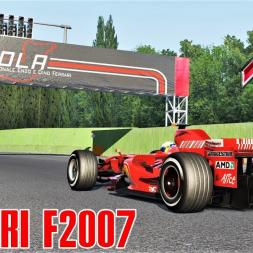 Ferrari F2007 (VRC) Testing at Imola - Assetto Corsa