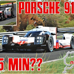 CAN THE PORSCHE 919 EVO GO SUB 5 MINUITES ON THE RING?? - Assetto Corsa