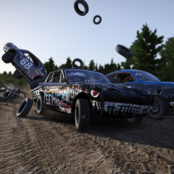 Time to goof off- RaceDepartment Wreckfest video