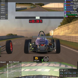 Actual Racing at Nordschliefe in the Skip Barber