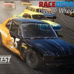 RaceDepartment live @ Wreckfest Club
