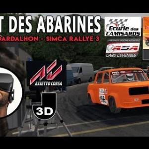 Fabien Dardalhon - Pont des Abarines 2017 [Assetto Corsa VR]