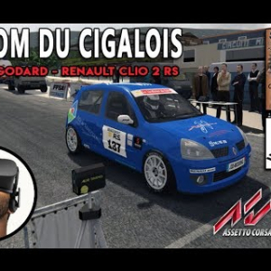 JIMMY GODARD - Renault Clio 2 RS [ASSETTO CORSA VR]