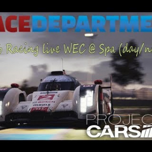 RaceDepartment Racing Club live WEC @ Spa (day/night) Project Cars 2 Oculus VR