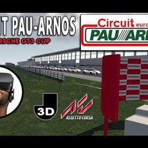 CIRCUIT PAU-ARNOS en Porsche GT3 CUP [ASSETTO CORSA VR]