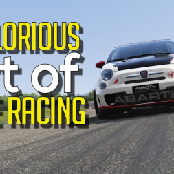 THE GLORIOUS ART OF CLOSE RACING - SRS Abarth 500 Corse series  [No commentary]
