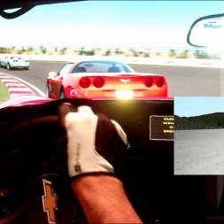 rF2 - Highlands Motorsport Park - Chevrolet Corvertte C6 - 100% AI race
