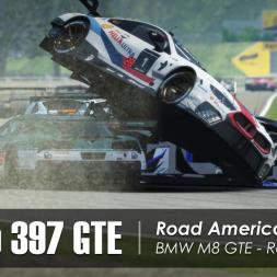 rFactor 2 - Studio 397 GTE - Road America (37 cars) - Race 1/2