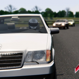 Assetto Online: Racing the big S70 AMG on Queensland!