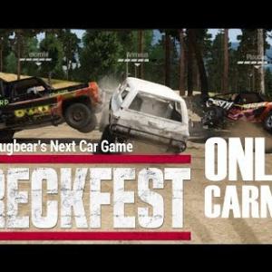 Wreckfest Online Carnage