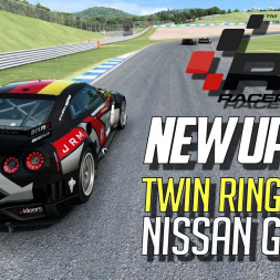 Raceroom new update:  Twin Ring Motegi and Nissan GT-R GT1 - Overview
