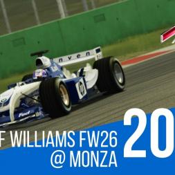 Assetto Corsa - MSF 2004 Montoya Williams Fw26 @ Monza in VR