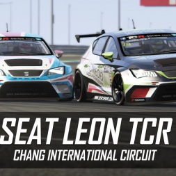 Assetto Corsa - Seat Leon TCR - Chang International Circuit - MOD TESTING (vs AI)