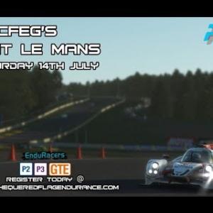 Rfactor2 - CFEG's - Petit Le Mans LMP2 + LMP3 + GTE