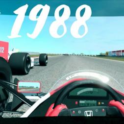 RFactor2 1988 McLaren mp4/4 @ Jacarepaguá in VR