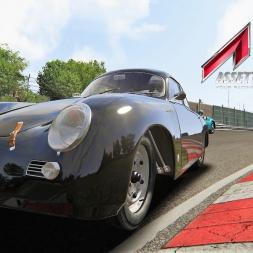 Assetto Mods: Porsche 356A 1600GS Carrera GT Coupe at Highlands Long!