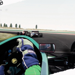Assetto Corsa Mixed Reality Alex Zanardi Jordan 191 Race at Misano