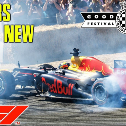 Formula 1 Cars Old & New - Burnouts and Donuts - Goodwood Festival of Speed 2018 - 4K