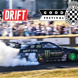 Professional Drifters Put On a Smoke-Show! - Goodwood Festival of Speed 2018 - 4K