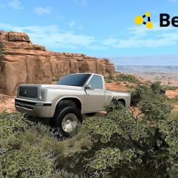 BeamNG Drive: Updated pickup with 1800 HP offroad