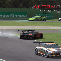 DISASTER! BMW Z4 GT3 @Imola. AccuForce. Triple Screens.