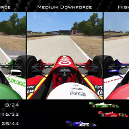 Automobilista | CART Extreme | Road America | Low or High Downforce?