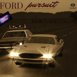 Assetto Corsa - Longford 70s Muscle Car Pursuit in VR