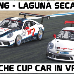 iRacing in VR - Laguna Seca
