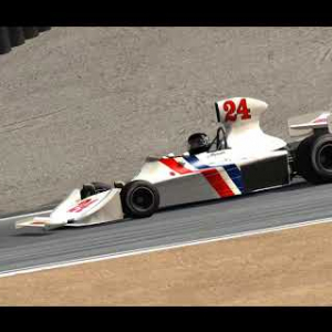Assetto Corsa First laps with the Hesketh @ Laguna Seca