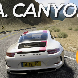 Here's something special: LA Canyons Assetto Corsa mod