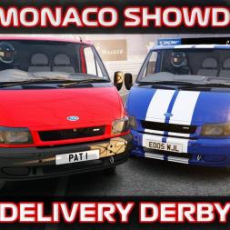 Ford Transit Monaco Logistics Van Prix - Assetto Corsa